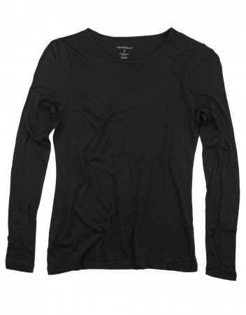 The Product 90 Black Wmn Long Sleeve