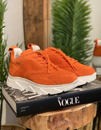 Pavement Orange Suede 359 Portia