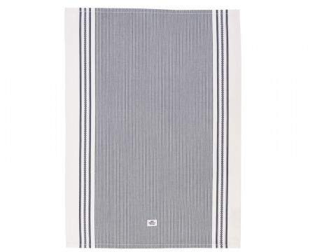 Lexington Navy 50x70 Oxford Striped Kitchen Towel