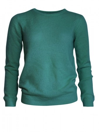 Sparkz Evergreen Pure Cashmere O-neck Pullover