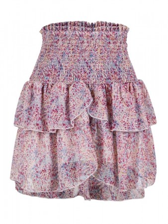 Neo Noir Lavender Carin Flower Crush Skirt