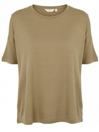 Basic Apparel 355 Covert Green Kate Tee