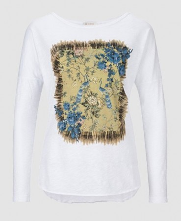 Rich & Royal White Longsleeve