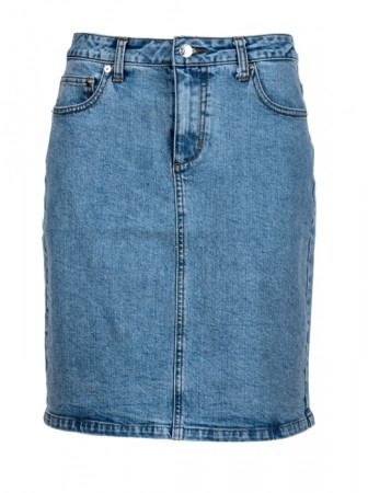 Ane Mone Lht Blue Denim - Skirt