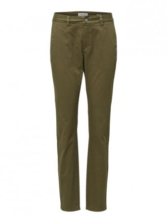 Selected Femme Olive Night - Slfmegan Mw Chino Noos W
