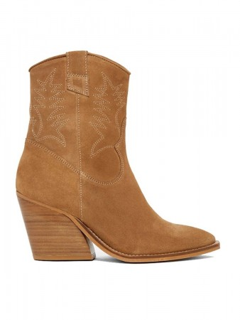Pavement Tan Suede 255 Abbie