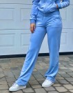 Juicy Couture Blue Del Ray Classic Velour Pant Pocket Design thumbnail