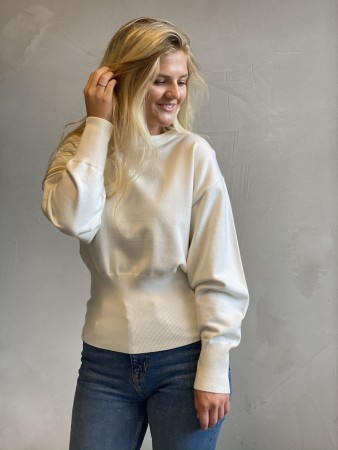 Na-kd Shaped Waist Dolman Sleeve Sweater