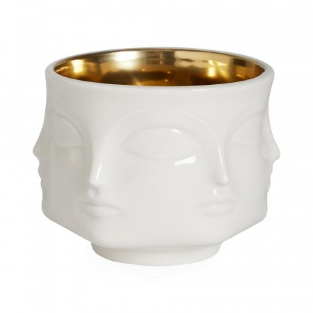 Jonathan Adler Muse Bowl - Gold Interior