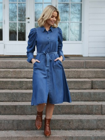 Rah Oslo Denim Rachel Dress