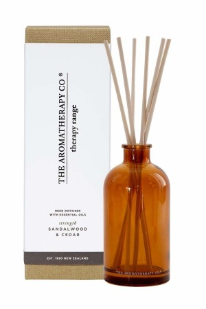 The Aromatherapy Therapy Diffuser 250ml Strength Sandalwood & Cedar