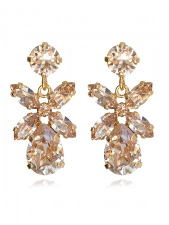 Caroline Svedbom - Mini Dione Earring Gold Silk 391