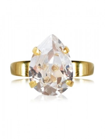 Caroline Svedbom - Mini Classic Drop Gold Crystal 001