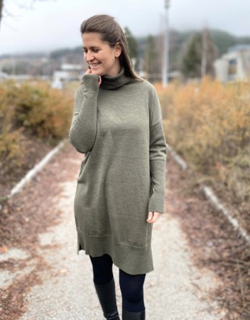 Rah Oslo Olive Maddie Dress