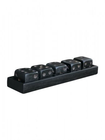 Artwood Dice Game Black