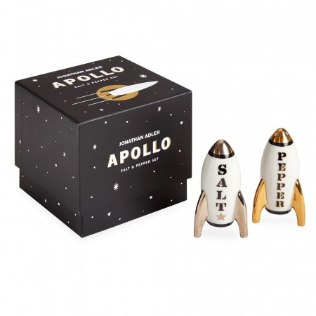 Jonathan Adler Apollo Salt & Pepper Sett - Black/white