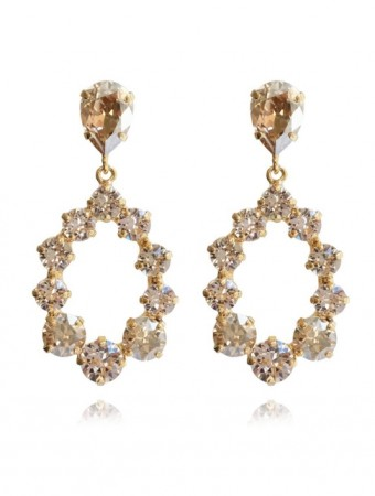 Caroline Svedbom Silk 391 Mini Delia Earring Gold