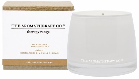 The Aromatherapy Therapy Candle 260g-balance-cinnamon&vanilla
