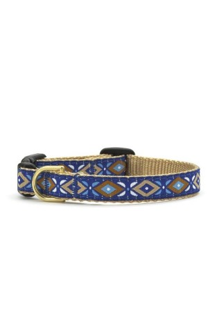 Up Country - Collar - Blue Aztec - Sz Xs