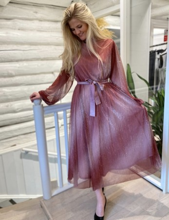 Second Female Dusty Rose Ametrine Dress