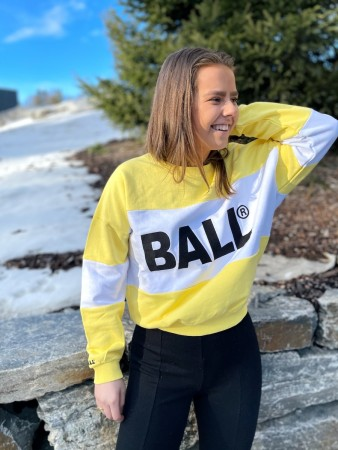 Ball Original Yellow Summer Ball Crew Neck