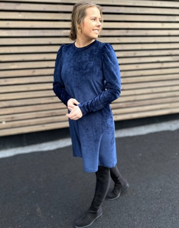 Rah Oslo Navy Whitney Dress