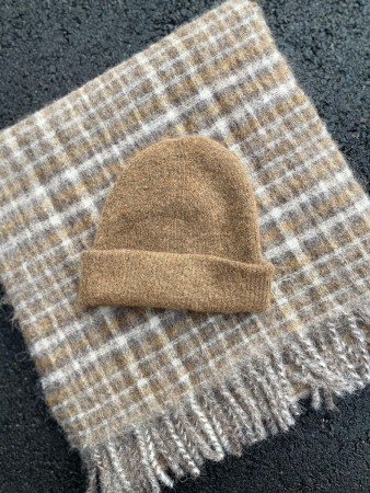 Holzweiler Light Brown Erica Beanie 20-04