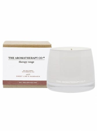 The Aromatherapy Therapy Candle 260g-uplift-sweetlime&mandarin