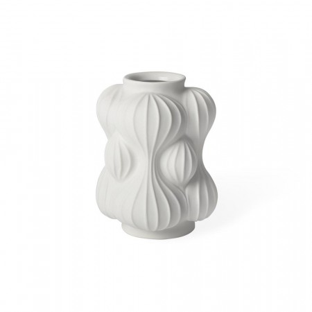 Jonathan Adler White Balloon Vase - Small