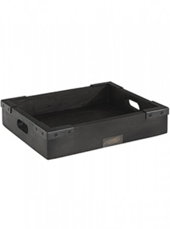 Artwood The Bakery Tray Rect M Black