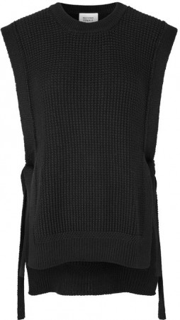 Second Female Black Aventurine Knit Vest