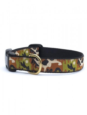 Up Country Collar - Camo - Sz M