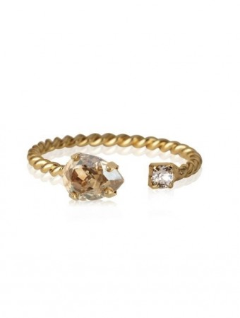 Caroline Svedbom Golden Shadow Gsha Nani Ring Gold
