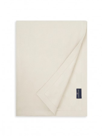 Lexington Jaquard Cotton Velvet Bedspread 160x240cm Off White