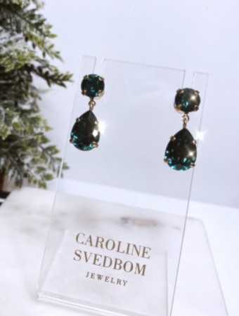 Caroline Svedbom Emerald 205 Mini Drop Earring Gold