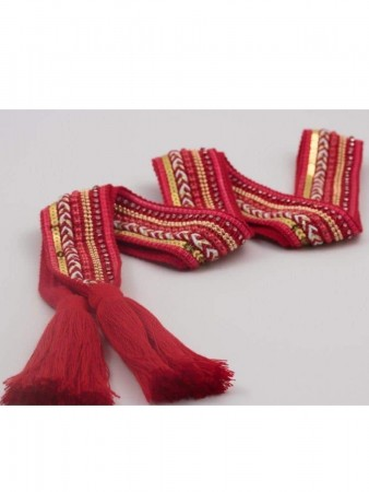 Noranorway Belt Knit Tassle Red