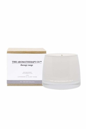 The Aromatherapy - Therapy Candle 260g Relax Lavender & Clary Sage