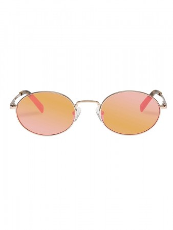 Le Specs Poseidon Bright Gold W/ Rose Mirror Lens