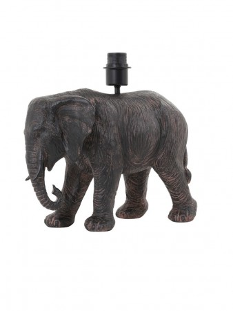 Light And Living Lampe Base 37*17*35 Cm Elephant Antique Brown