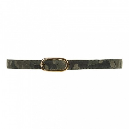 Depeche 123 Camouflage Narrow Belt