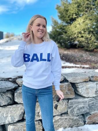 Ball Original Optic White Cph Crew Neck Sweat