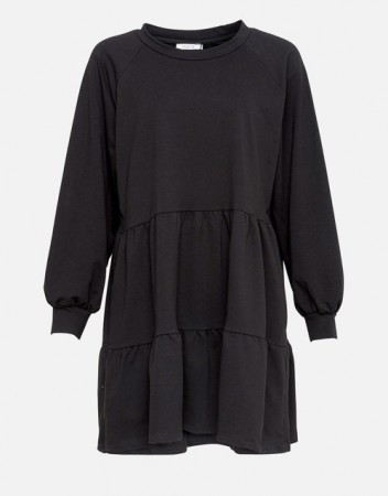 Noella Black Holly Sweat Dress