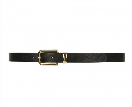 Depeche 099 Black (nero) Narrow Belt